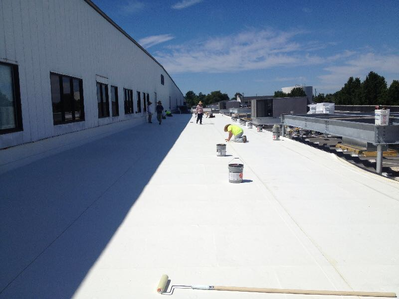 Patriot Roofing Low Slope Roofing Work